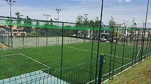 Rede de Proteção Esportiva Sob Medida para Cobertura de Campos de Futebol, Society, Quadras e Areia - Fio 4 - Malha 12