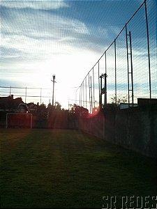 Rede de Proteção Esportiva Sob Medida para Lateral e Fundo de Campos de Futebol e Society - Fio 4 - Malha 15