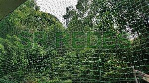 Rede de Proteção Esportiva Sob Medida para Lateral e Fundo de Quadras de Tênis e Poliesportivas - Fio 2 - Malha 5