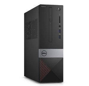 Dell Desktop Vostro 3250 Intel Core i3-6100 3.7GHz, 4GB RAM, 500GB HD, DVD, Wi-Fi, Ubuntu Linux