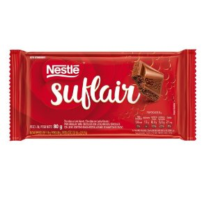 Chocolate ao leite aerado suflair - Nestle - 80g