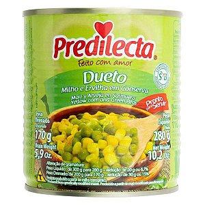 Dueto ervilha e milho - Predilecta - 170g