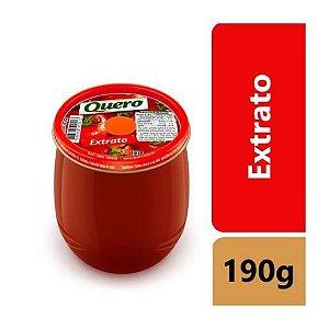 EXTRATO DE TOMATE NO COPO - QUERO - 190g