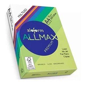 Papel A4 - ALLMAX - 500 folhas