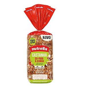 Pao de forma castanha do para e quinoa - Nutrella - 350g