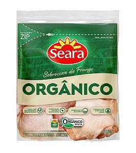 Sobrecoxa de frango organico - Seara - 600g