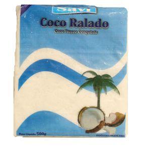 Coco fresco congelado - Savi - 500g