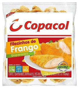 Filezinho de frango empanado - Copacol - 1,5kg
