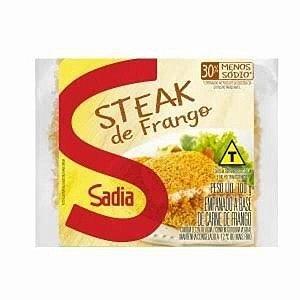 Steak de frango - Sadia