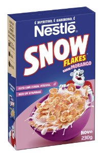 Cereal matinal snow - Nestle