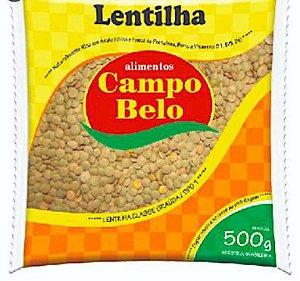 Lentilha - Campo belo - 500g