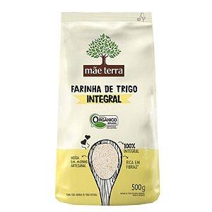 Farinha de trigo organica integral - Mae terra - 500g