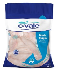 File de peixe tilapia - C vale - 2kg