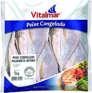 Peixe palombeta inteiro - Vitalmar - 1kg