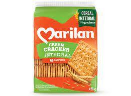Biscoito cream cracker integral - Marilan - 420g