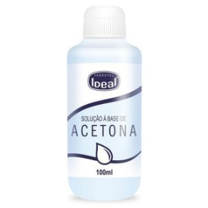 Acetona - Ideal - 100ml