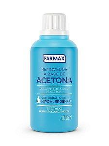 Acetona - Farmax - 100ml