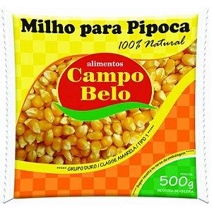 Milho de pipoca - Campo belo - 500g