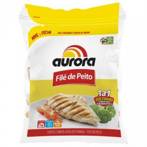 File de peito de frango - Aurora - 3kg