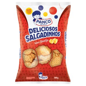 Biscoito deliciosos salgadinhos - Panco - 500g