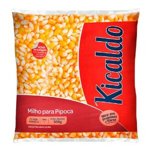 Milho de pipoca - Kicaldo - 500g