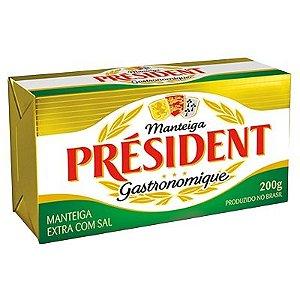 Manteiga com sal - President - 200g