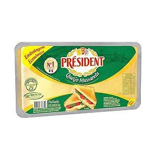 Queijo mussarela fatiado - President - 1kg
