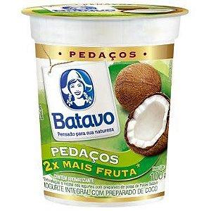 Iogurte com pedaços de frutas - Batavo - 500g