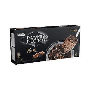 Torta diamante negro congelada - Lacta - 160g
