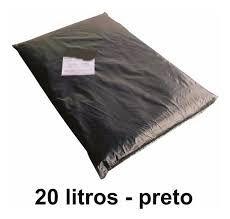 Saco de Lixo - 20 lts - 10 unid.