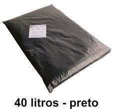 Saco de Lixo 40 lts - 10 Unid