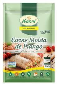 Carne moída de Frango Orgânico - Korin 400gr - Congelado