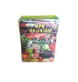 Fertilizante npk super verde - 04 - 14 - 08 - 1kg