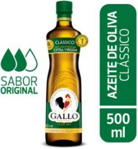 AZEITE DE OLIVA EXTRA VIRGEM - GALLO - 500mL