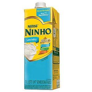 Leite ninho semidesnatado levinho - Nestle - 1L