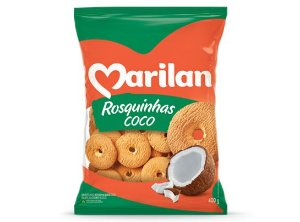 ROSQUINHAS DE COCO - MARILAN - 400g