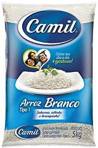 ARROZ AGULHINHA TIPO 1 - CAMIL - 5kg