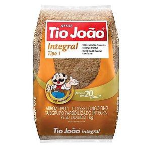 Arroz integral parboilizado - Tio joao - 1kg