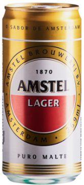 CERVEJA AMSTEL LATA - 269 ML