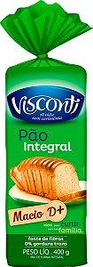 PAO DE FORMA INTEGRAL - VISCONTI - 400g