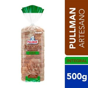 PAO DE FORMA INTEGRAL ARTESANO - PULLMAN -500g