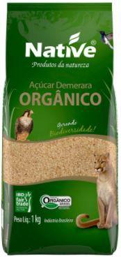 Açucar demerara organico - Native - 1kg