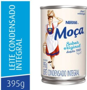 LEITE CONDENSADO - MOÇA - 395g