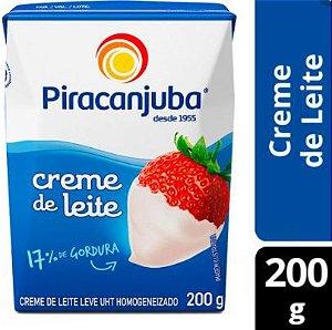 CREME DE LEITE PIRACANJUBA - 200 GR