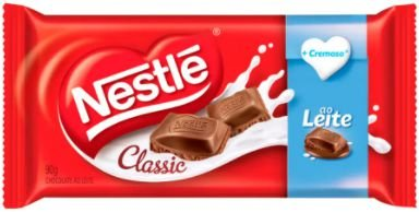 CHOCOLATE AO LEITE - NESTLE - 90g
