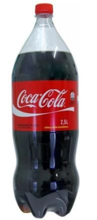 COCA COLA - 2,5 LITROS