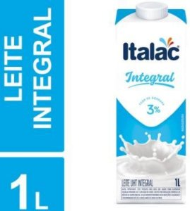 LEITE INTEGRAL LONGA VIDA - ITALAC - 1L