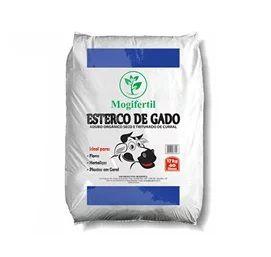 ESTERCO DE GADO MOGIFERTIL - 20 KG - 10 KG - 05 KG