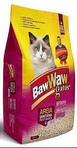 AREIA HIGIENICA PARA GATOS BAW WAW - 4kg