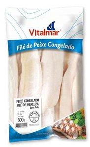 FILE DE MERLUZA CONGELADO VITALMAR - 800g